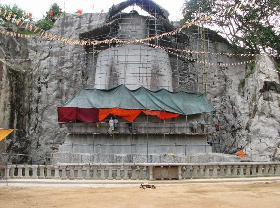 World's Largest granite Samadhi Buddha statue in Kurunegala