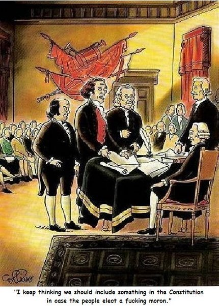 The US Constitution&#39;s Achilles&#39; Heel