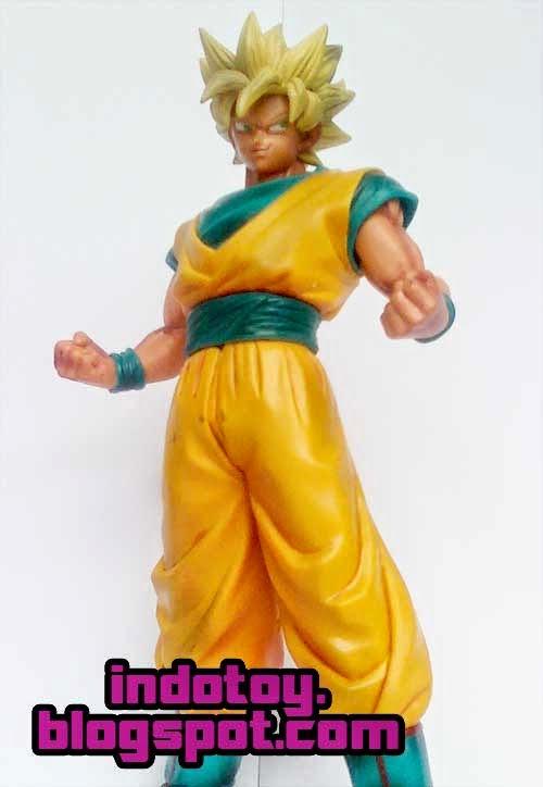 Jual Action Figure Dragon Ball Goku Super Saiyan PVC