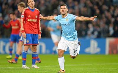 Sergio Aguero yakin Manchester City bisa bertahan di kejuaraan Eropa