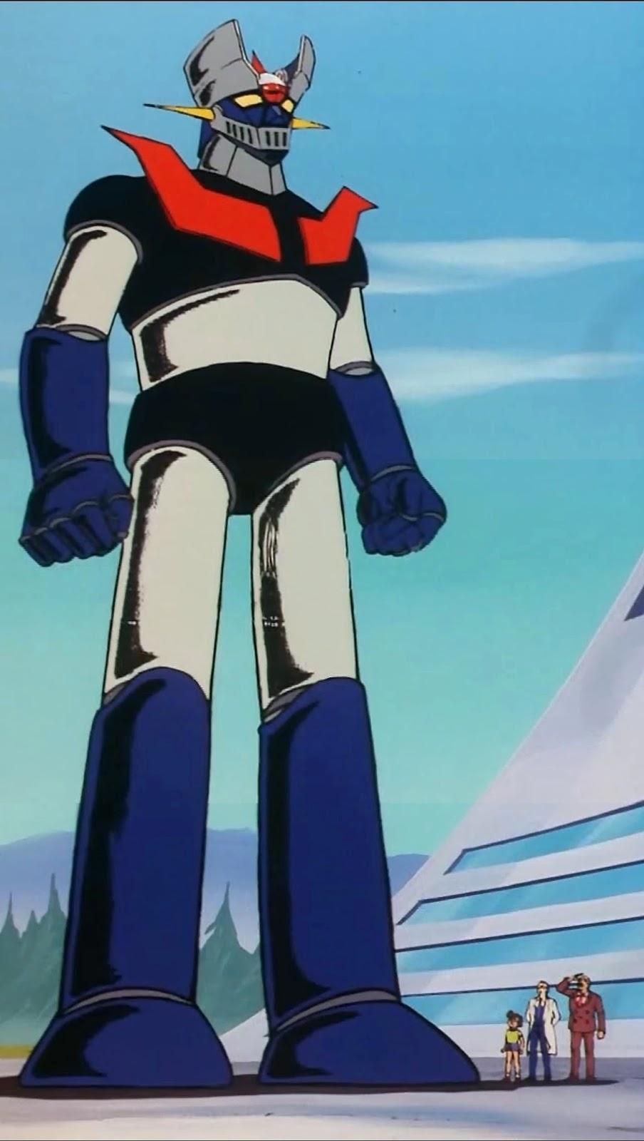 Fotograma de la serie de dibujos animados Mazinger Z