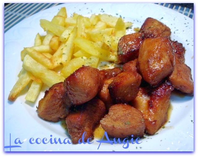 Pollo Al Aroma De Jengibre