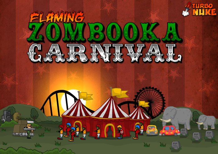 free game blogger flaming zombooka carnival is coming soon