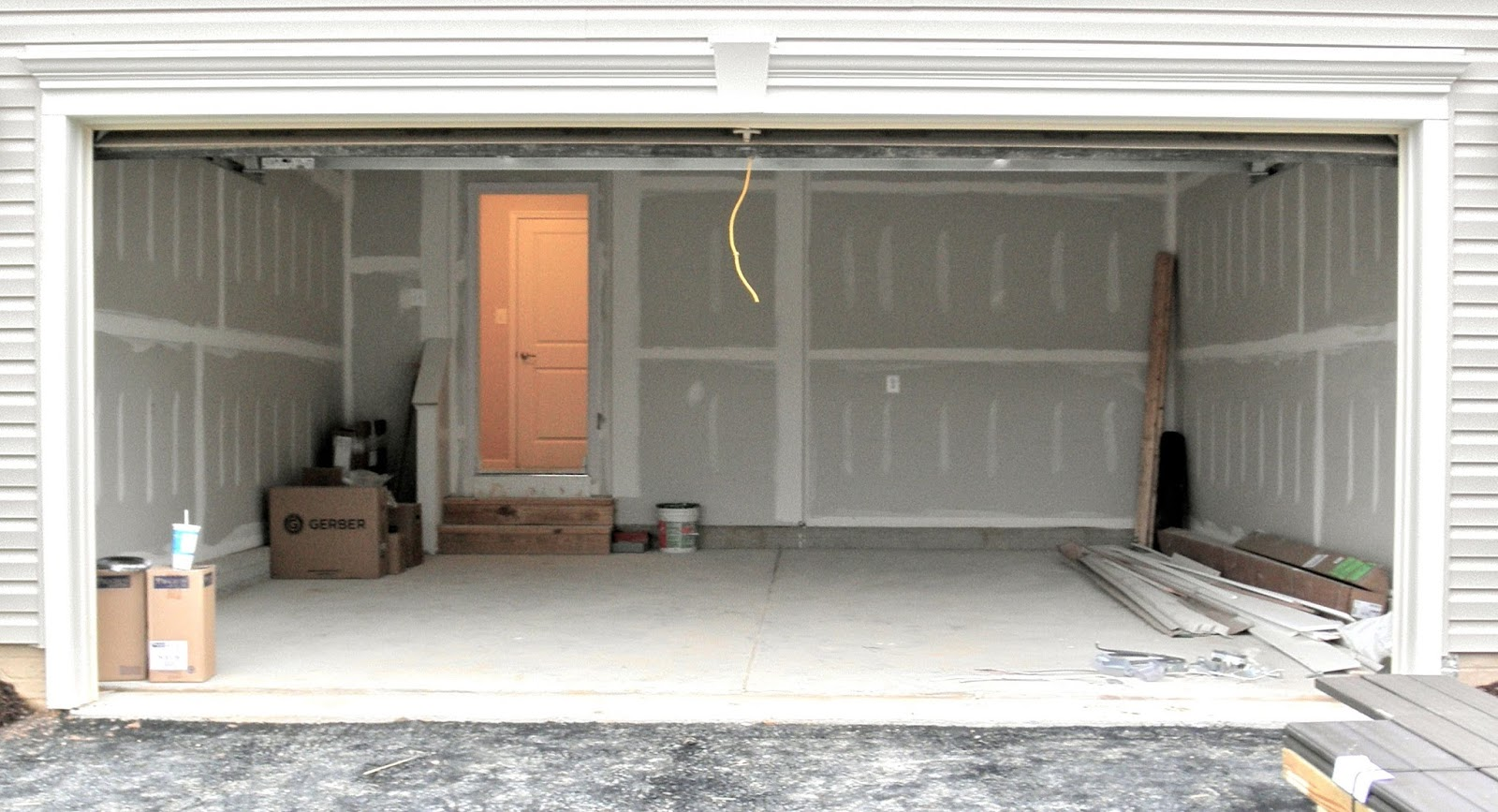 Garage makeover for Garage transformation