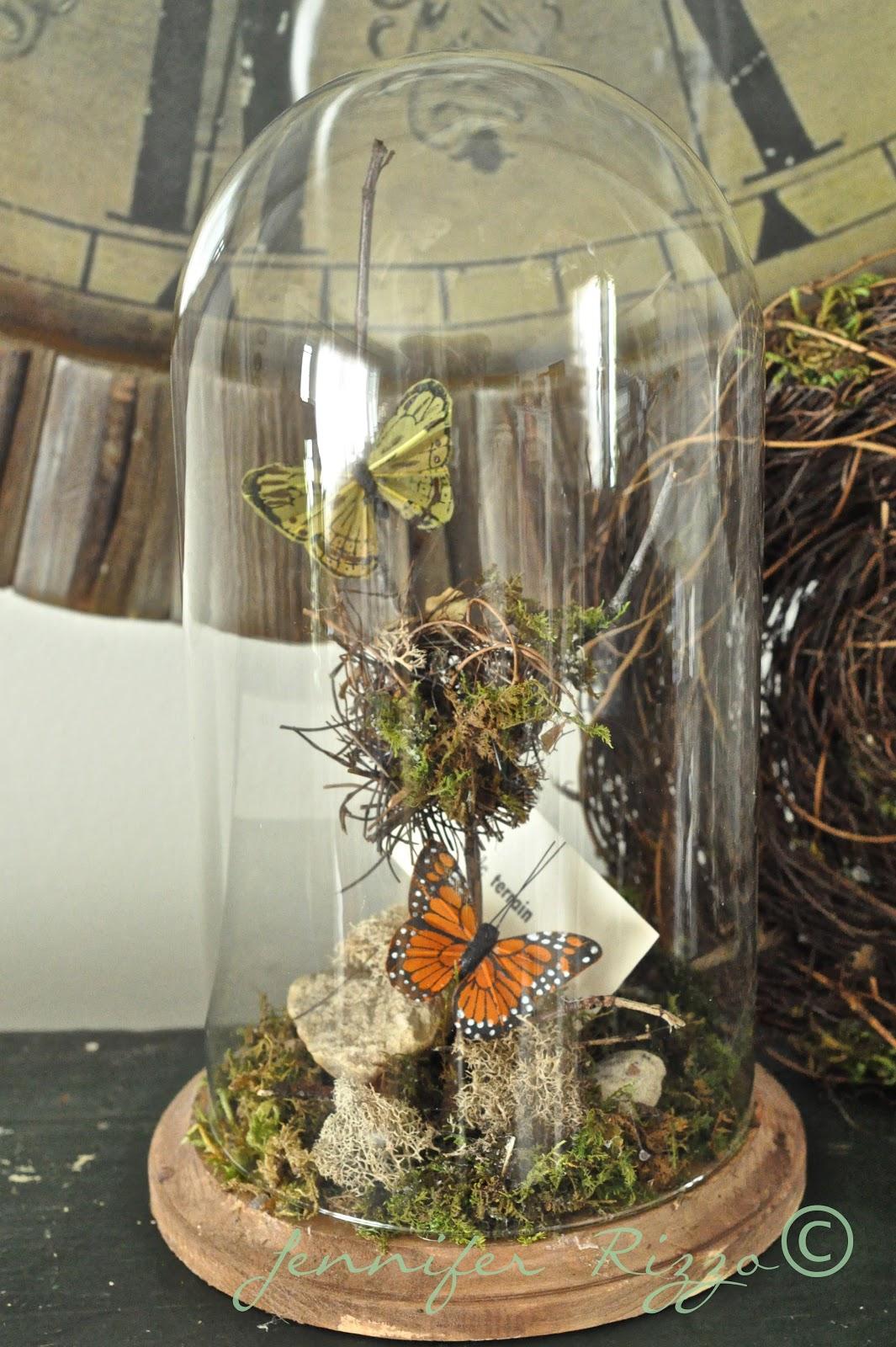 It ... - Make A Faux Terrarium Out Of A Thrift Store Clock Case