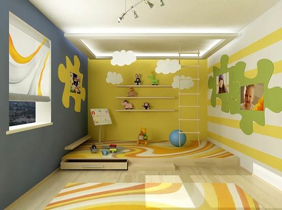 7 Basement Ideas On A Budget Chic Convenience For The Home: Cheap And Chic Home Design: I Colori Per Le Camere Dei Bambini