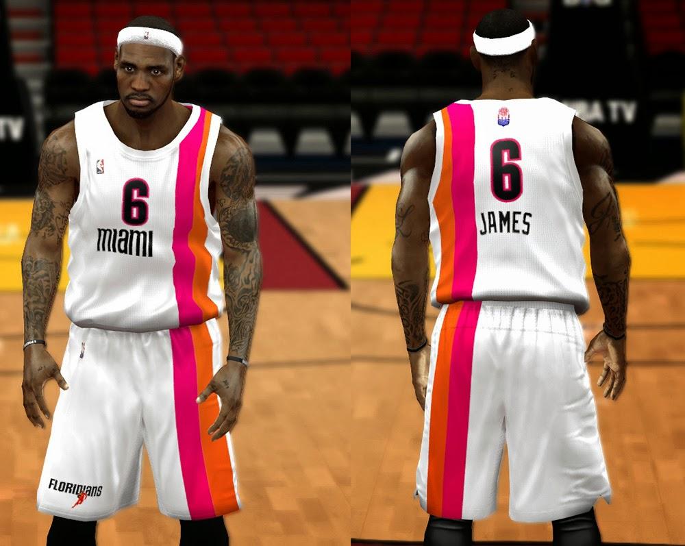 Miami Heat Floridians Jersey