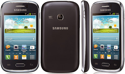 Samsung Galaxy Young Deep Blue