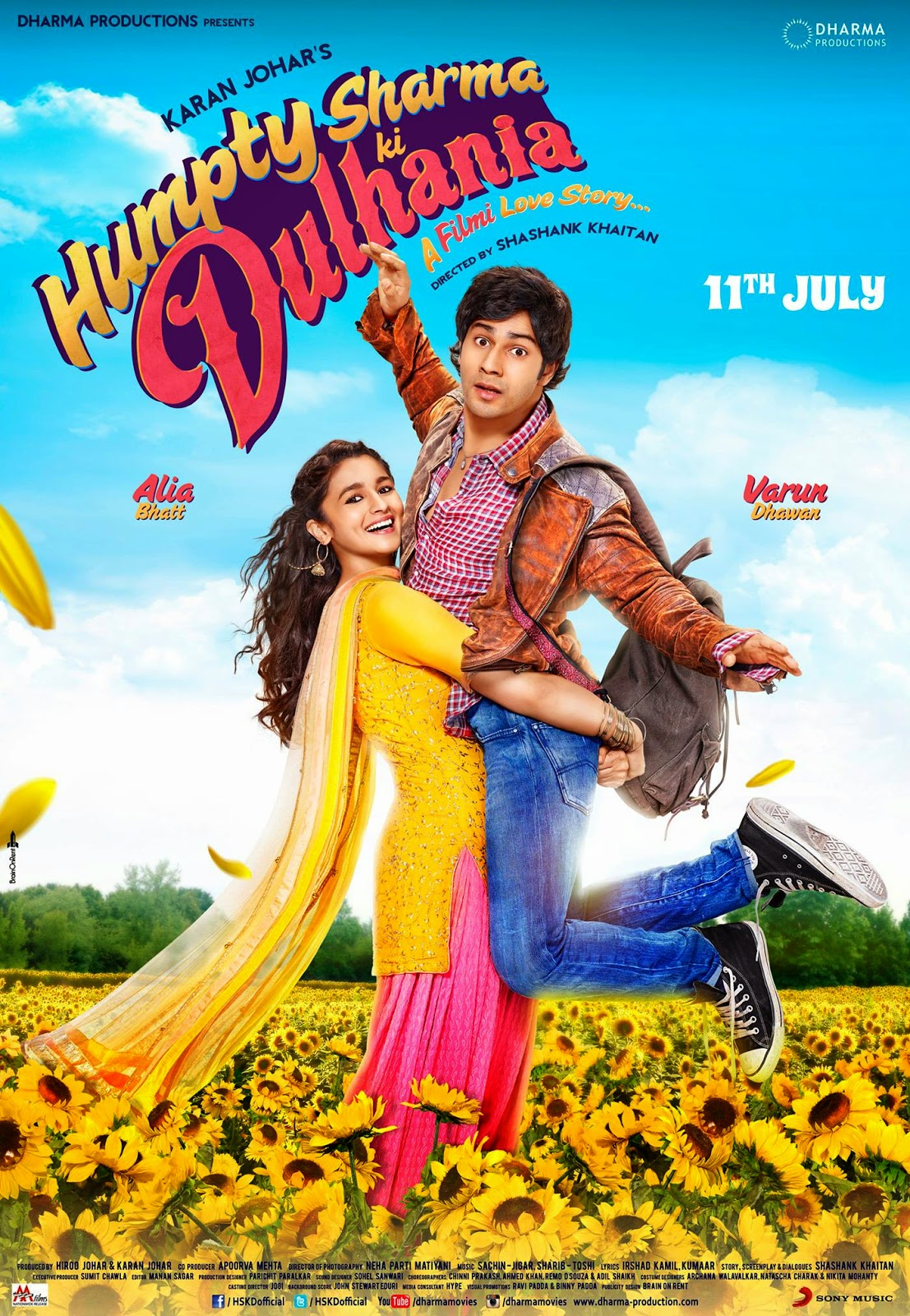 bollywood movie Humpty Sharma Ki Dulhania poster, varun dhawan, alia bhatt first look pics, wallpaper