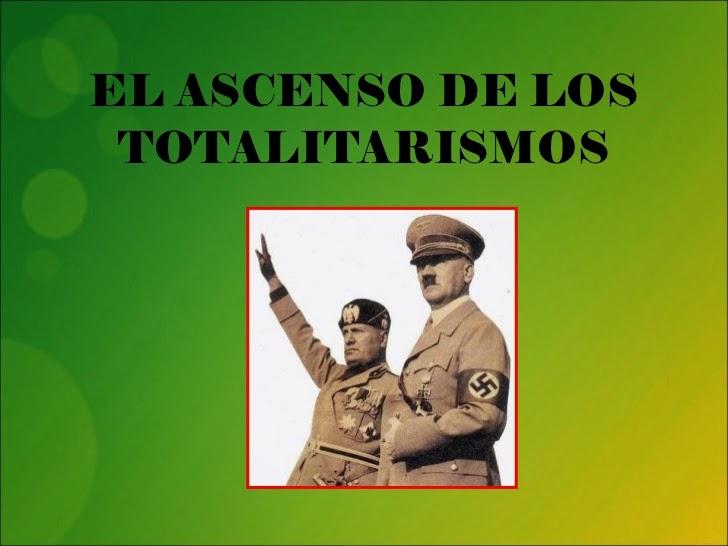 Nuevo tema: Fascismo Italiano - Benito Mussolini.