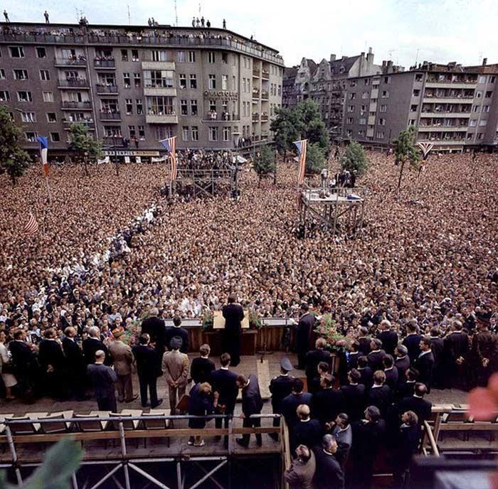 Discurso Kennedy en Berlín