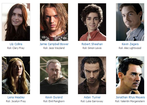 Mortal Instruments City Of Bones  oyuncu