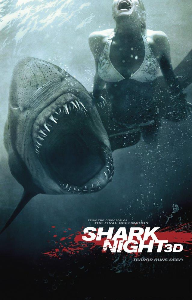 If you can, then you got the plot to the movie, Shark Night 3D.
