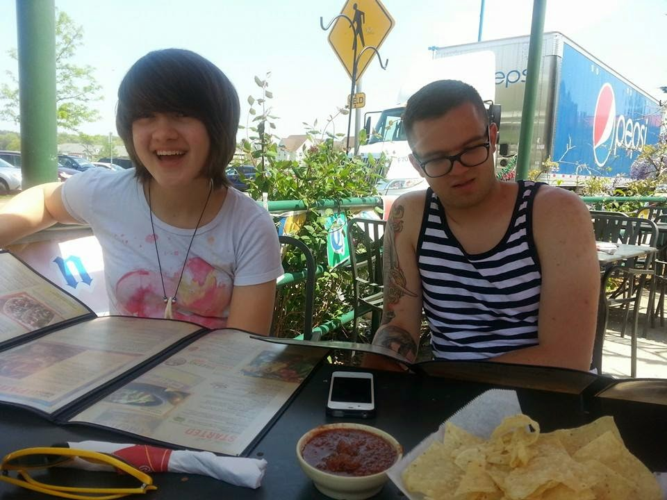Gill and I had lunch with Ben a few weeks ago