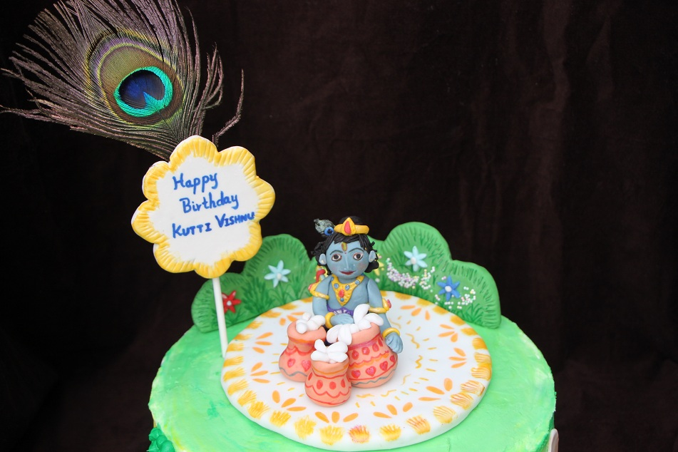 Cake Images With Name Krishna : Pin Krishna Janmashtami Bal Gopal Pictures Laddu Cake on ...