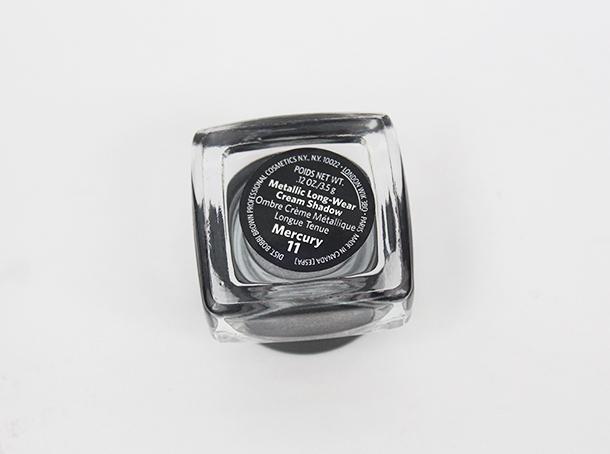 bobbi brown mercury cream eyeshadow review