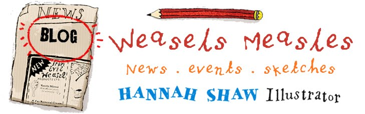 Weasels Measles ::: Sketchbook Blog of Hannah Shaw