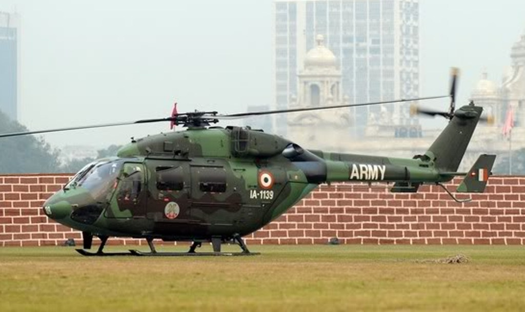 Indian Advanced Light Helicopter (ALH), Dhruv Crashes ...