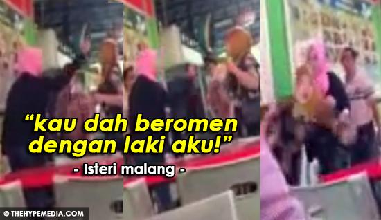 Video Pekerja Indon dibelasah Isteri Orang Rumah Tangga Aku Dah Musnah