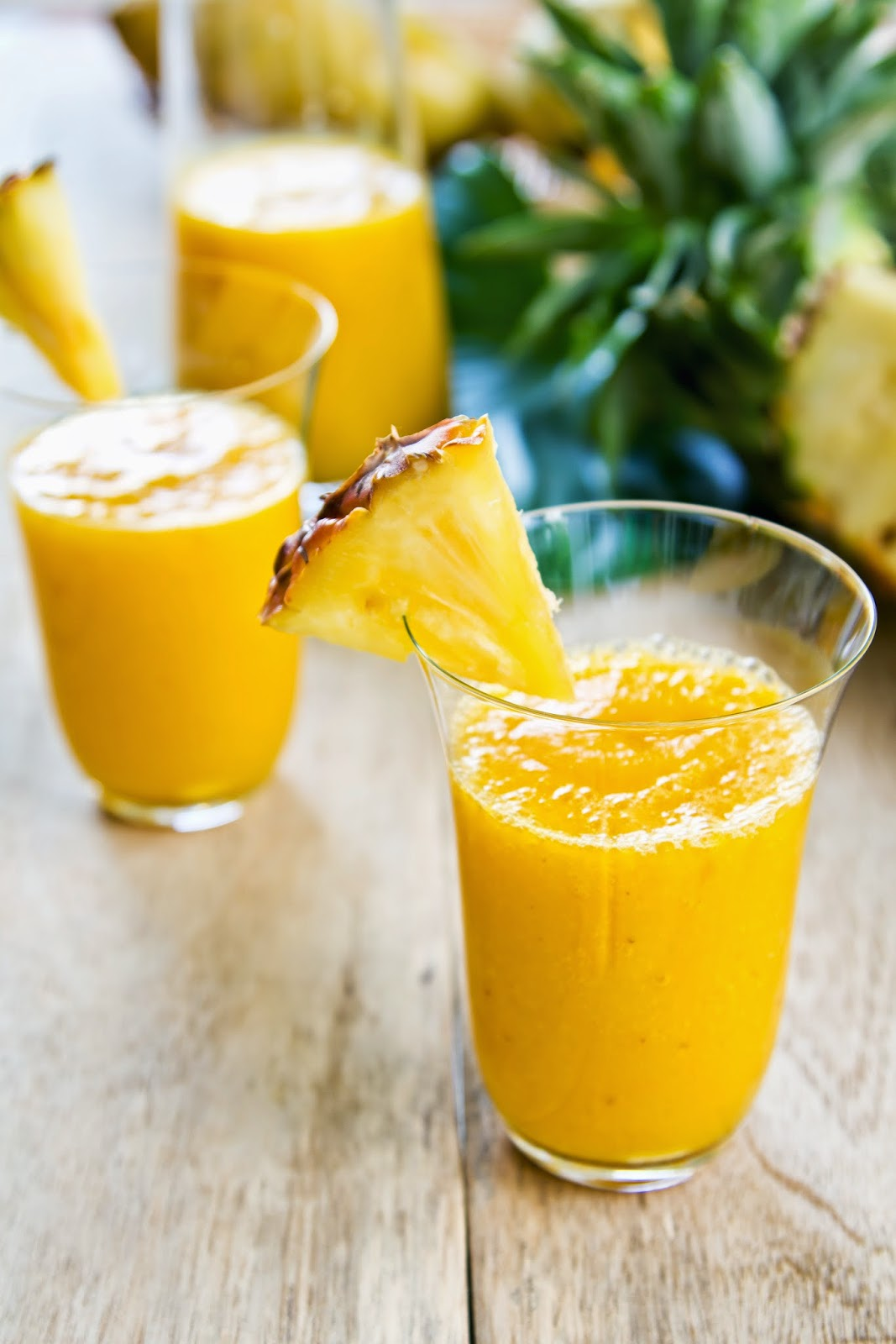 Healing Pineapple Smoothie For Relieving Inflammation & Pain | Raw ...
