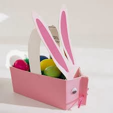 Easter Projects For Toddlers: Pretty Basket 4