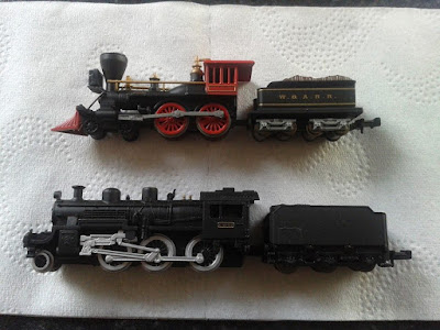 A couple of cheap del prado static n gauge models for my ACW and WWII wargaming projects