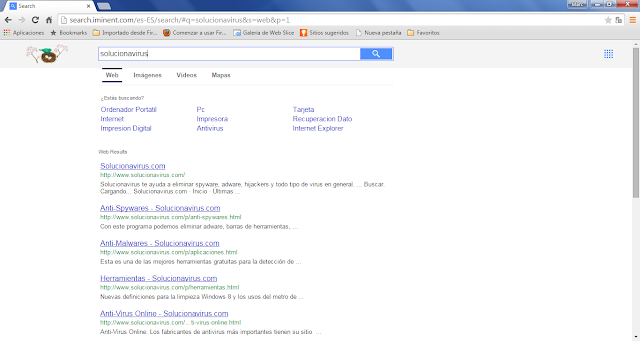 Search.iminent.com results