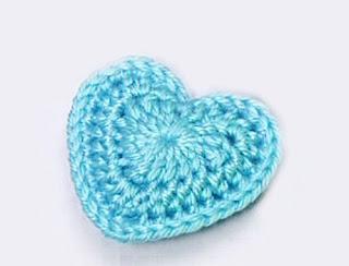 crochet corazon