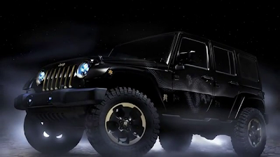 2012 Jeep Wrangler Dragon Concept