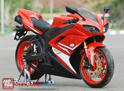 Biaya Modifikasi Yamaha Vixion Full Fairing