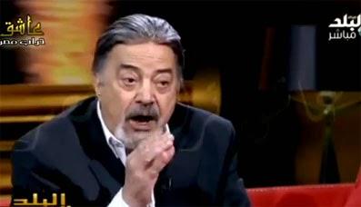 الممثل يوسف شعبان يصف المغاربة باليهود و يدعي أن البنا عراب الإخوان مغربي