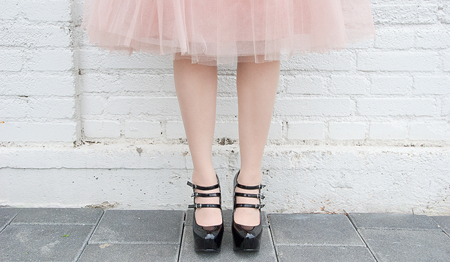 Rare london, tutu skirt, pink tulle skirt