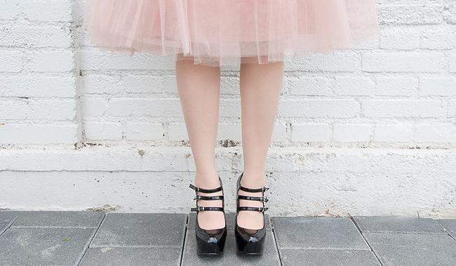Rare london, tutu skirt, pink tulle skirt