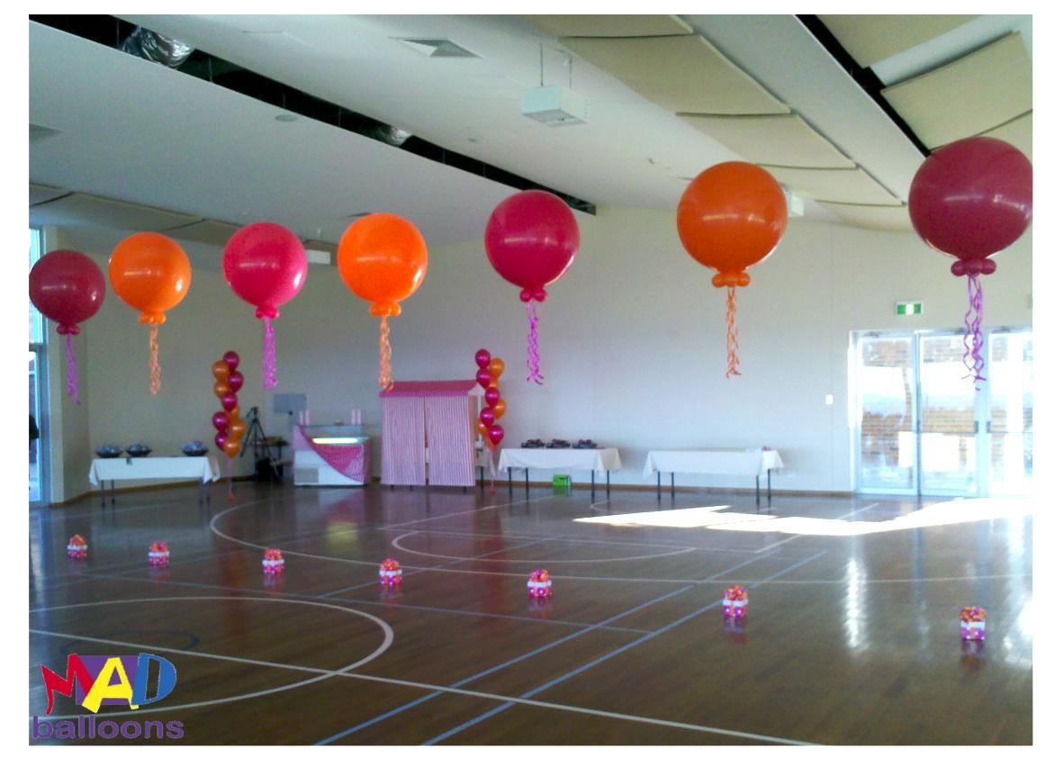 MAD Blog: Batmitzvahand more 3' balloon ideas