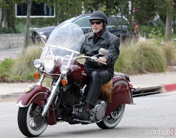 schwarzenegger moto indian