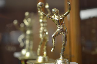 Bokah Basketball Trophy