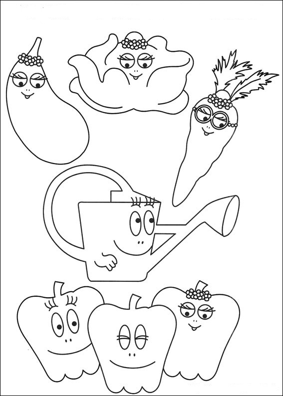 Fun Coloring Pages Barbapapa Coloring Pages Barbapapa Coloring Pages