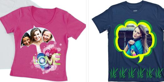 Photo On Tshirt - Aplikasi Desain Baju Android