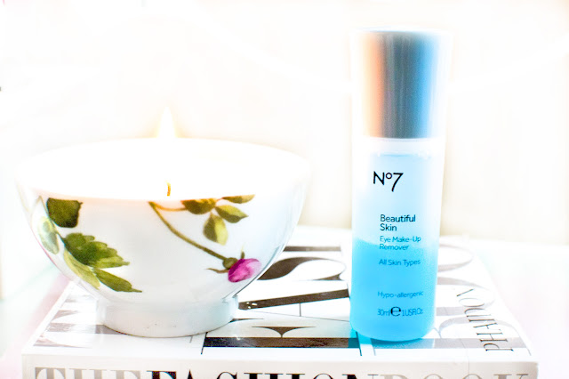 No7 beautiful skin eyemakeup remover