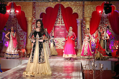 Alia Bhatt walks the ramp for Kavita and Meenu Malik