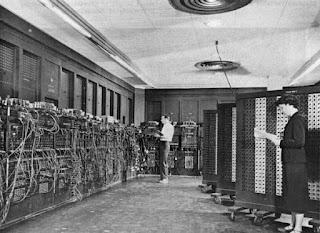 El primer ordenador, construido en Estados Unidos.