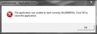 Cara Mengatasi Masalah Error The application was unable to start correctly