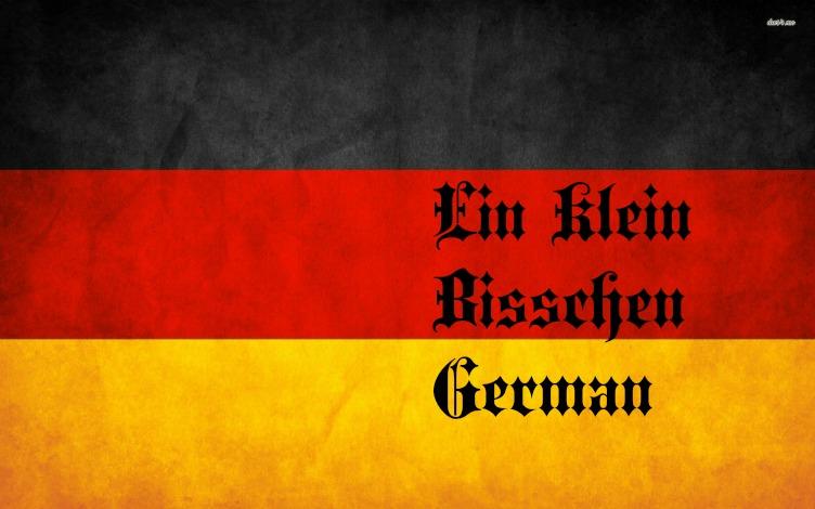 Ein Klein Bisschen German