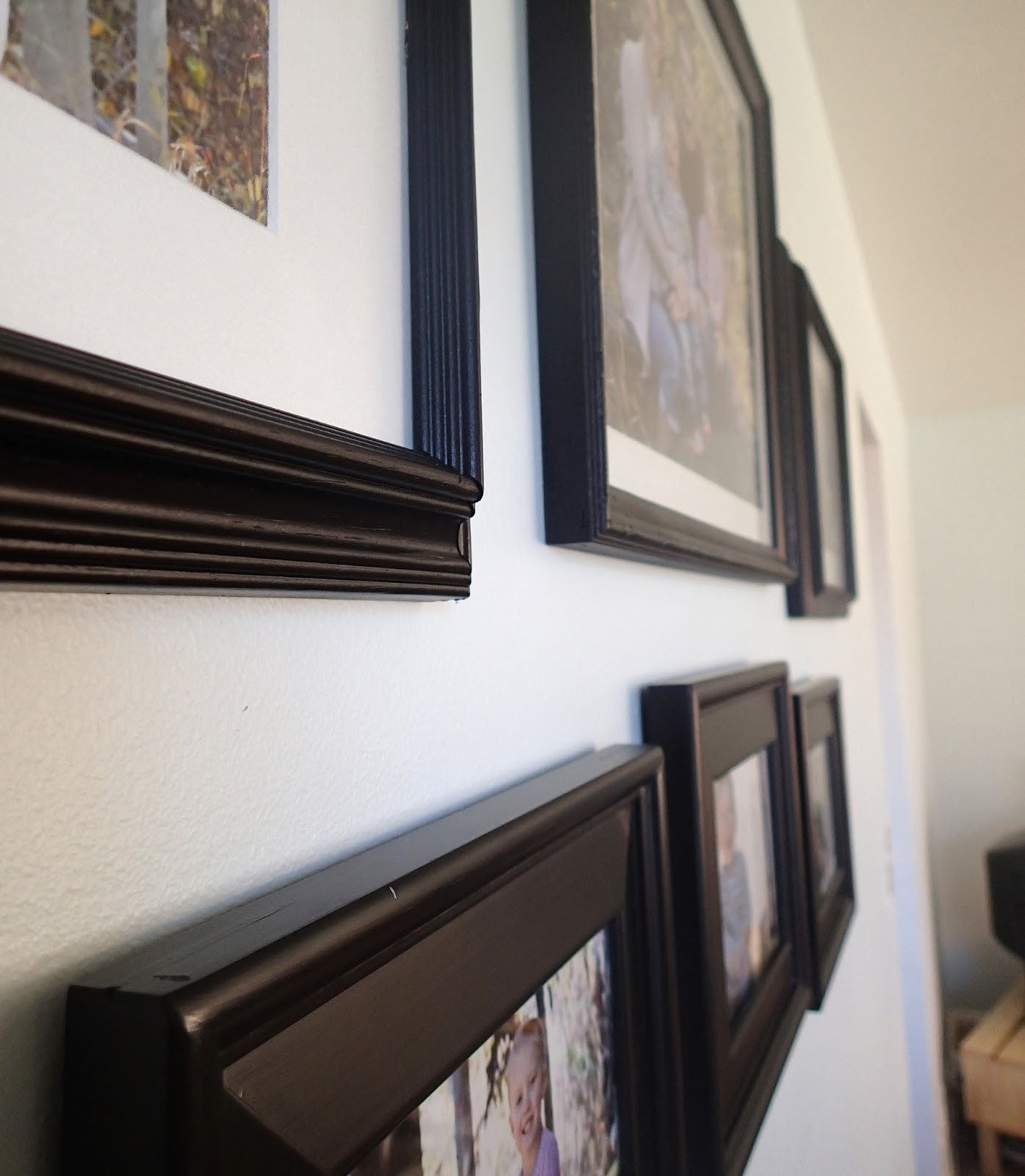 Spray Painting Pictures Frames