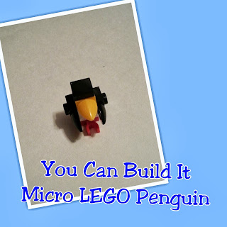 Check out this Instructional Video to Build a Micro LEGO Penguin