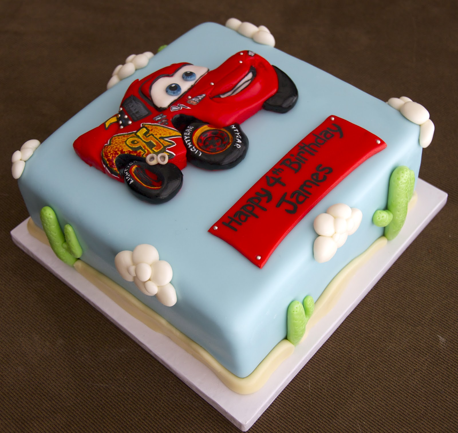 Love your cake august 2012 happy birthday james thecheapjerseys Gallery