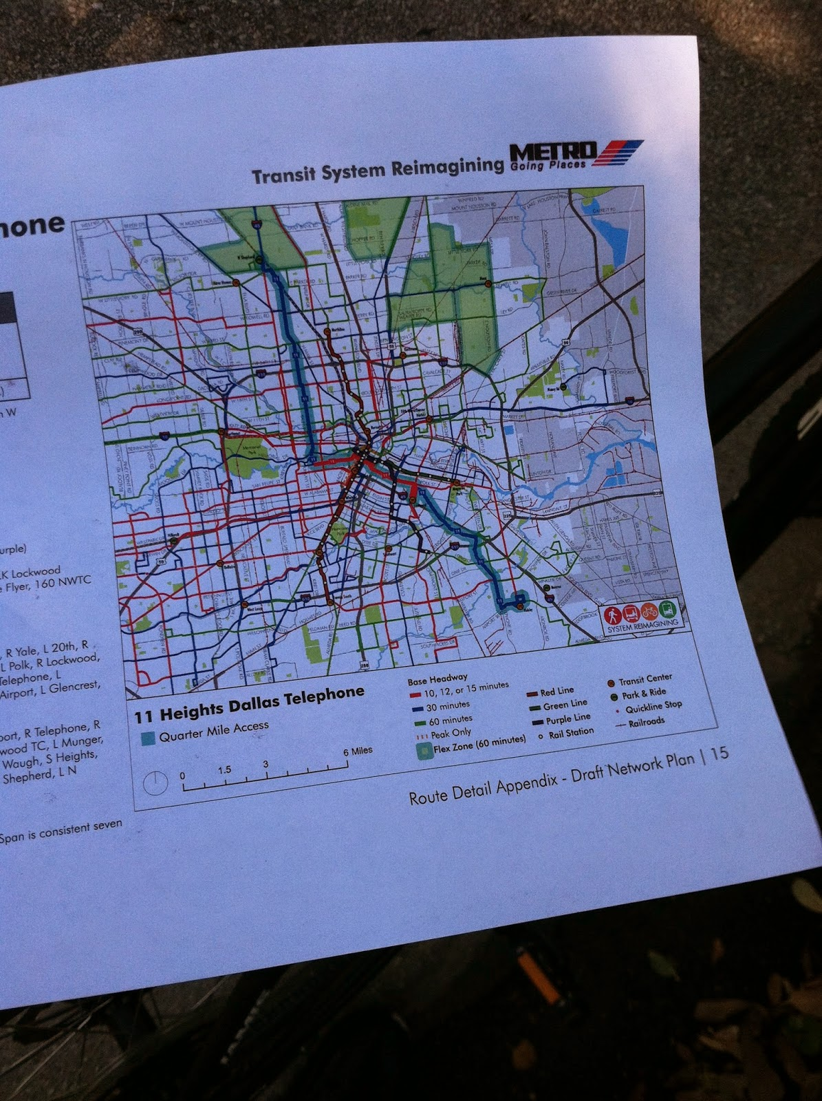Houston Judgemental Map%0A As I looked at the new routes through the Houston Heights neighborhood and  how they would impact my personal commute  I began to think about the  changes