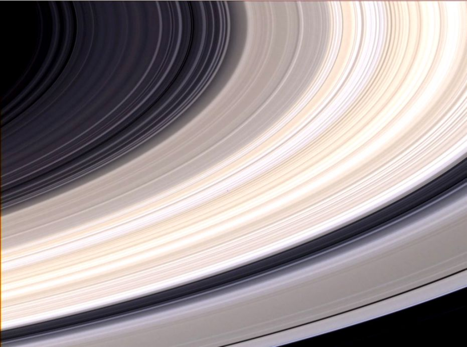 What Color Is Saturns Rings