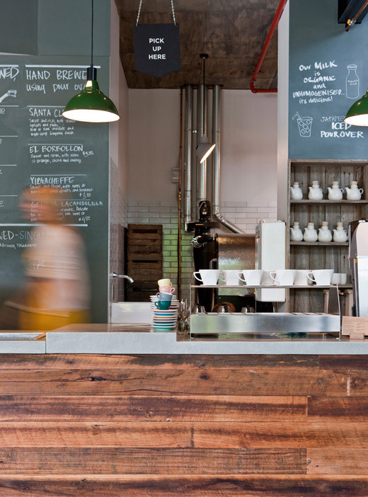 Bittersweet industrial style cafe for Design industry melbourne
