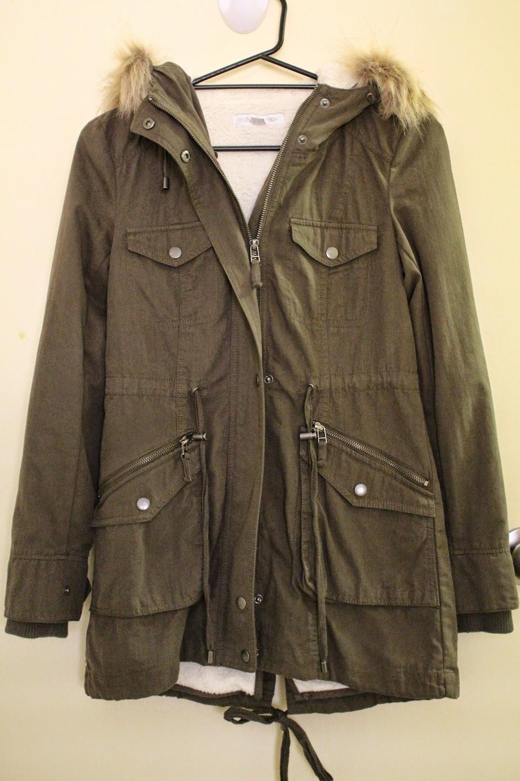 fall fashion haul, autumn fashion haul, khaki military jacket
